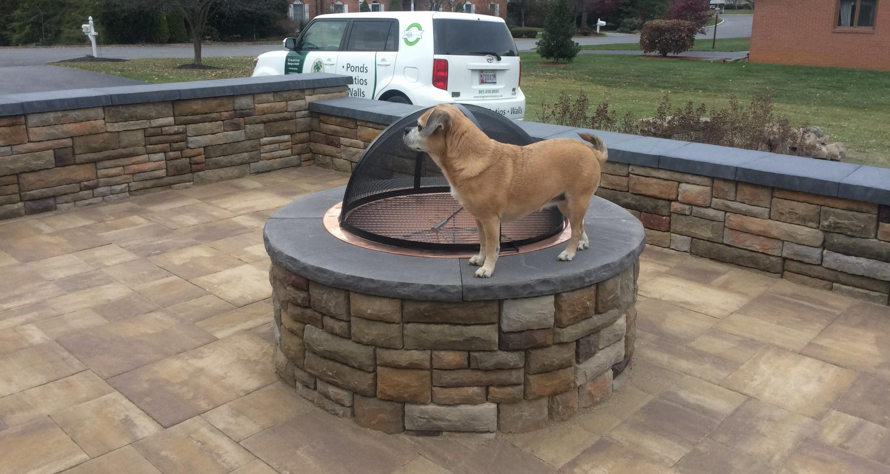 Hardscaping Fire Pit