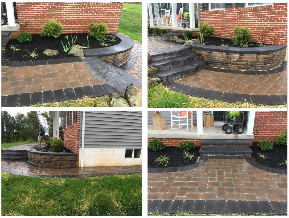 EP Henry pavers and wall block in Sabillasville Maryland, Kingdom Landscaping