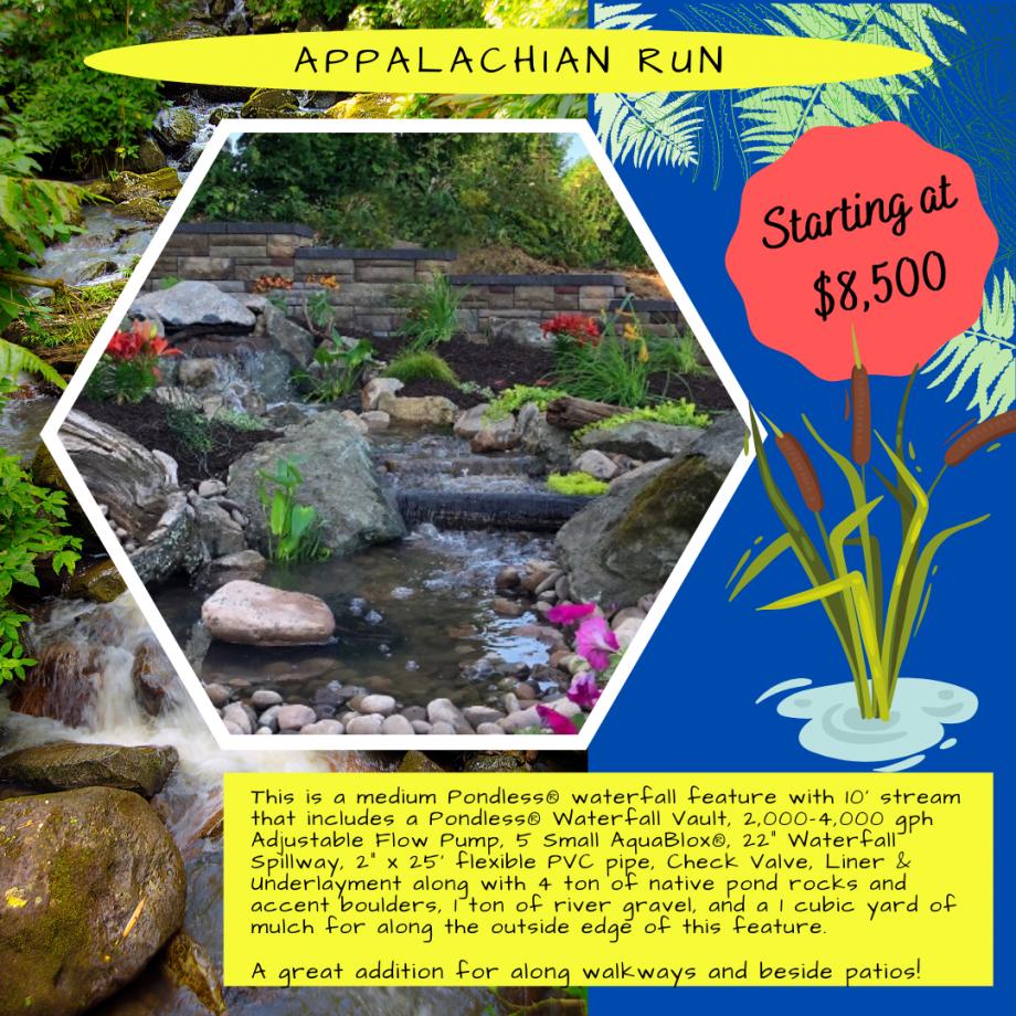 Kingdom Landscaping Pondless Waterfall Builder Appalachian Run