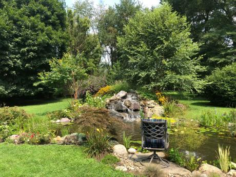 Aquascape Ecosystem Pond by Kingdom Landscaping