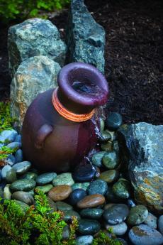 Aquascape Mini Leaning Vase