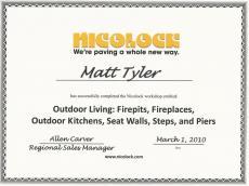 NicoLock Certification