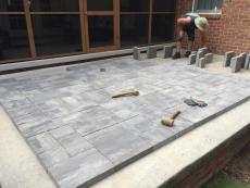 Concrete Paver Overlay
