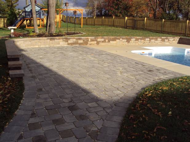 Pool Landscaping   Boonsboro, Maryland