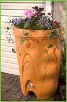 Decorative Rain Barrel