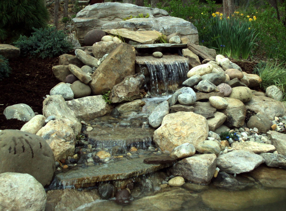 Pond Waterfall Installation   Shepardstown, West Virginia