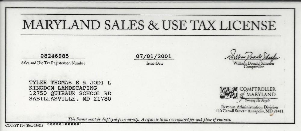 Sales & Use Tax